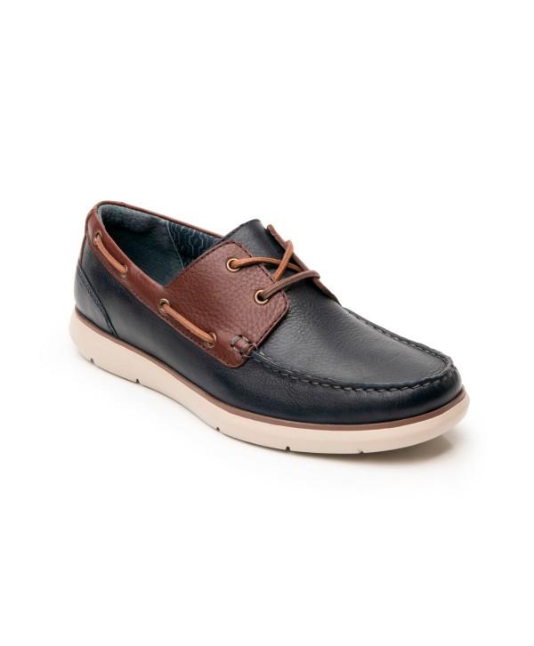 Zapato Casual De Playa Flexi Para Hombre Con Flowtek Estilo 403604 Marino