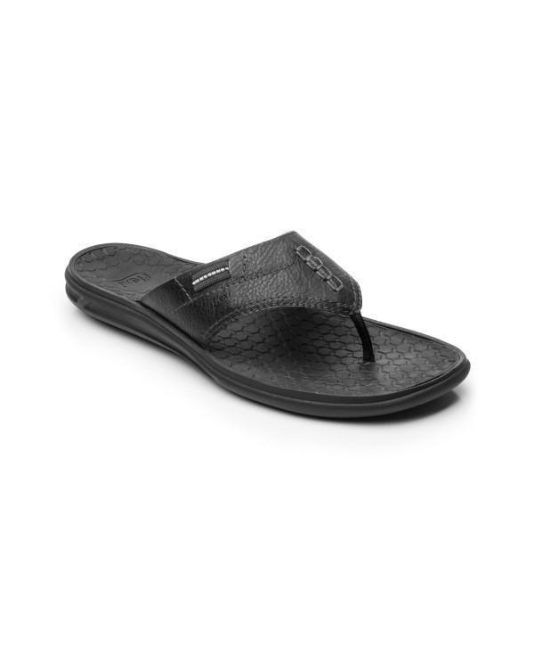 Sandalia Para Playa Flexi Para Hombre Con Suela Extraligera Estilo 404101 Negro