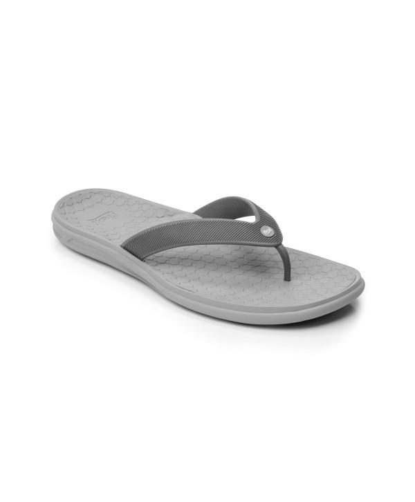 Sandalia Para Playa Flexi Para Hombre Con Suela Extraligera Estilo 404103 Gris