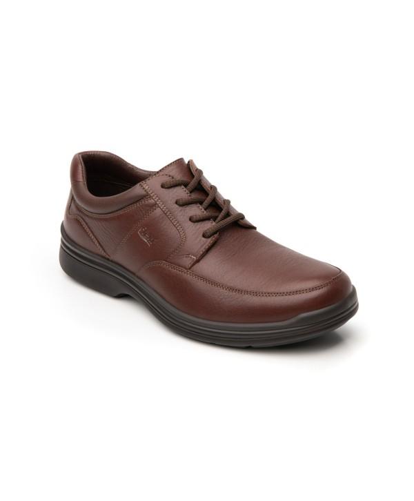 Zapato Choclo Flexi Para Hombre Con Sistema Walking Soft Estilo 404801 Oporto