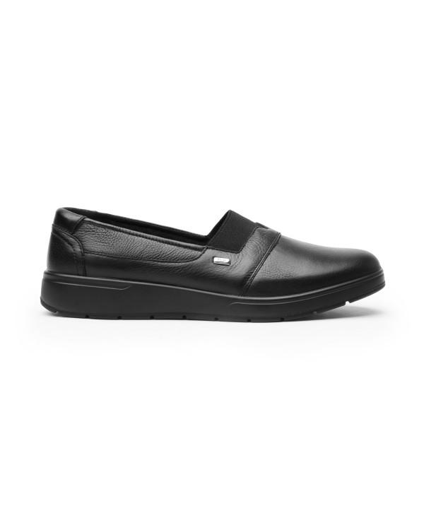 Zapato Casual Flexi Para Mujer Con Autoajuste Estilo 103604 Negro