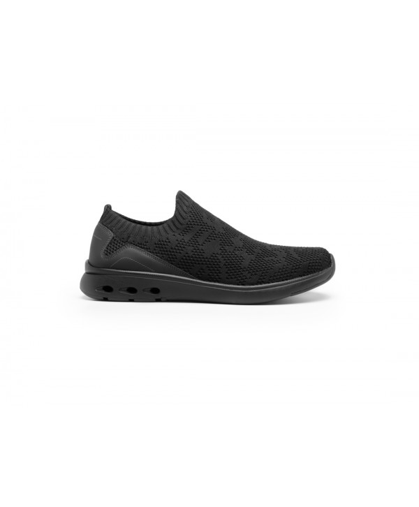 Sneaker Tejido Tipo Calcetín Flexi Con Suela Extraligera Estilo 105201 Negro