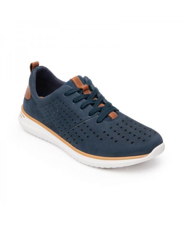 Sneaker Casual Sport Flexi Para Mujer Con Suela Extra Ligera Estilo 107602 Azul