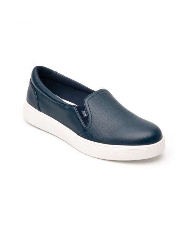 Sneaker Casual Flexi Para Mujer Estilo 107701 Marino