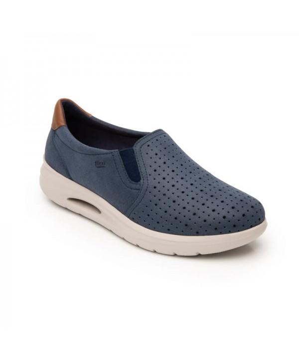 Sneaker Casual Con Recovery Form Y Suela Extra Ligera Estilo 108002 Azul