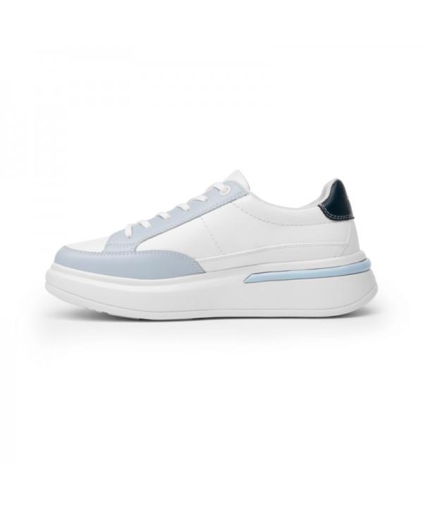 Sneaker Urbano Flexi Para Mujer Con Flowtek Estilo 108103 Azul