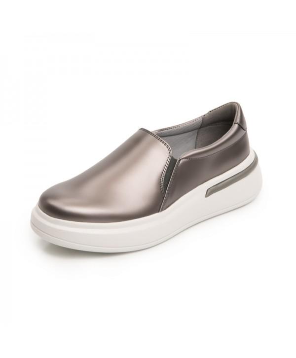 Sneaker Urbano Flexi Para Mujer Con Flowtek Estilo 108104 Plata