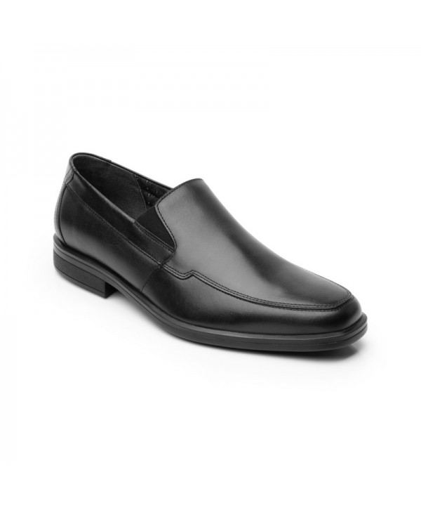 Loafer Floreta Liso Flexi Para Hombre Estilo 407803 Negro