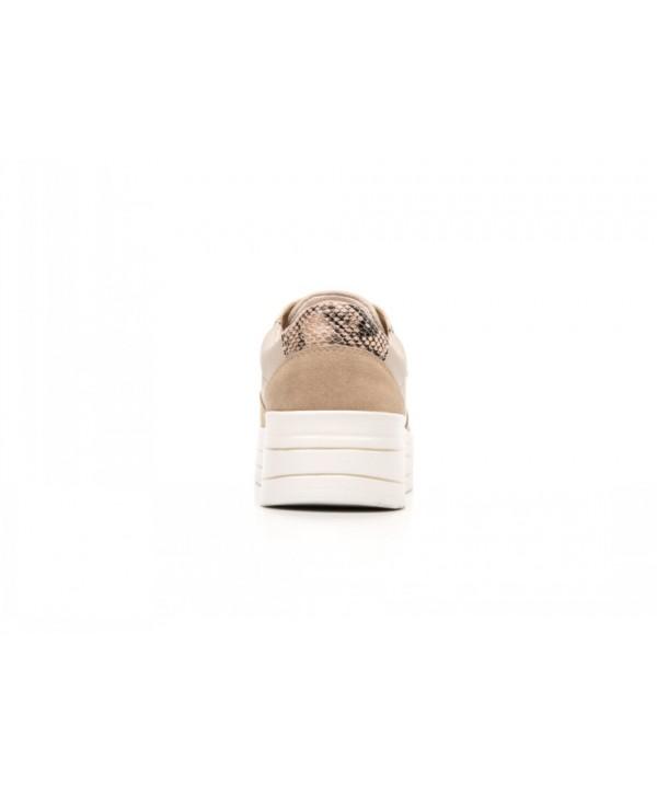 Sneaker De Plataforma Flexi Para Mujer Con Suela Gruesa - 101006