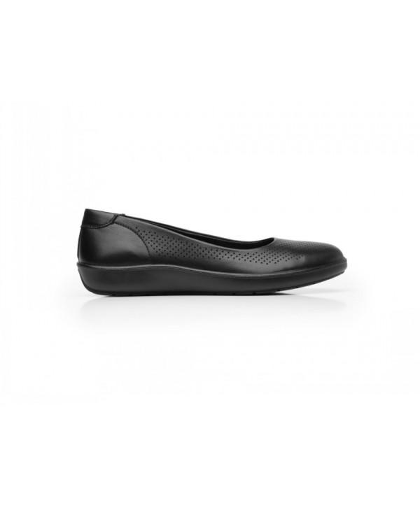 Ballerina De Corte Perforado Flexi Para Mujer Con Sistema Walking Soft - 101904