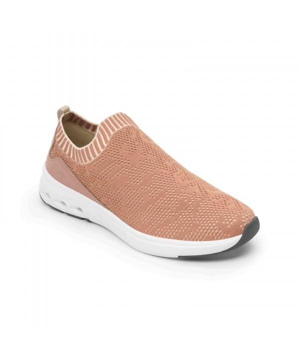 Sneaker Tejido Tipo Calcetín Flexi Con Suela Extraligera Estilo 105201 Rosa