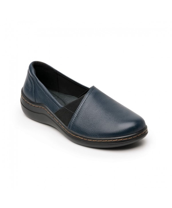Zapato Casual Flexi Para Mujer Con Walking Soft Estilo 110302 Azul