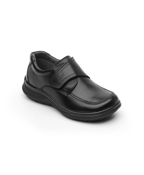 Zapato Casual Escolar Flexi Con Velcro Central - 402102