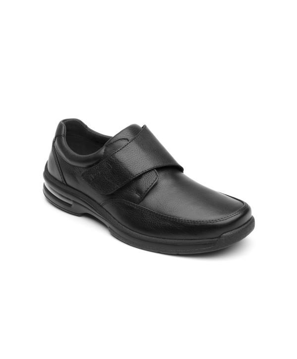 Zapato Casual Para Oficina Flexi Con Velcro - 402804