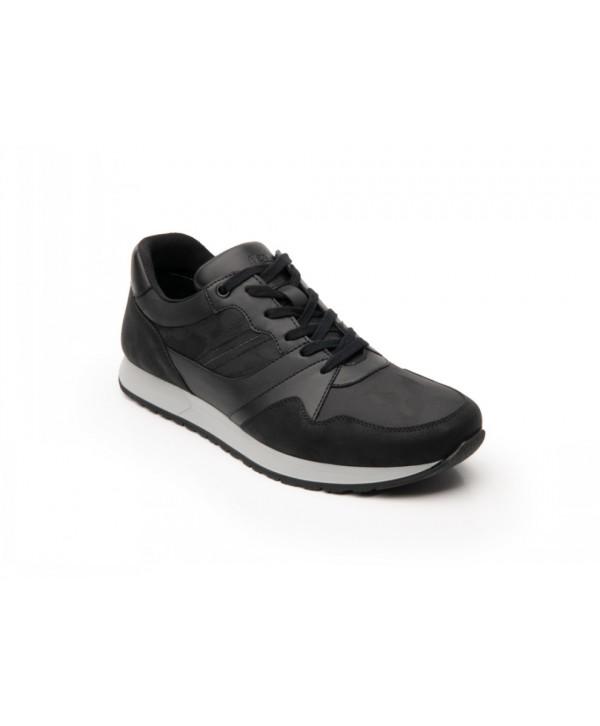 Sneaker Urbano Flexi Para Hombre Con Acabados Texturizados - 403108