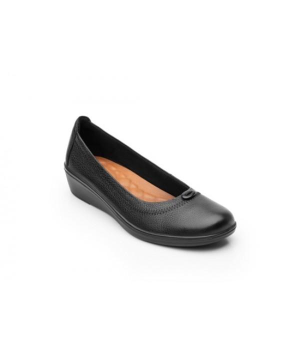 Ballerina De Plataforma Flexi Para Mujer Con Plantilla Comfort Pad 45605