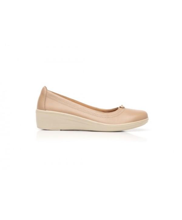 Ballerina De Plataforma Flexi Para Mujer Con Plantilla Comfort Pad - 45605