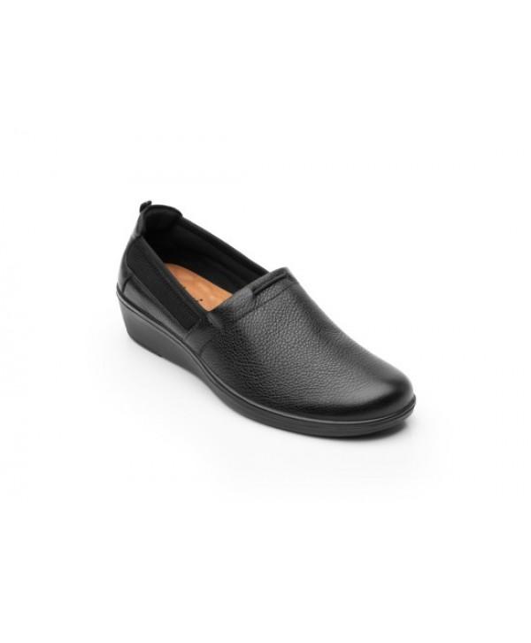 Slip On Con Detalle De Malla Y Elástico Con Plantilla Comfort Pad - 45606
