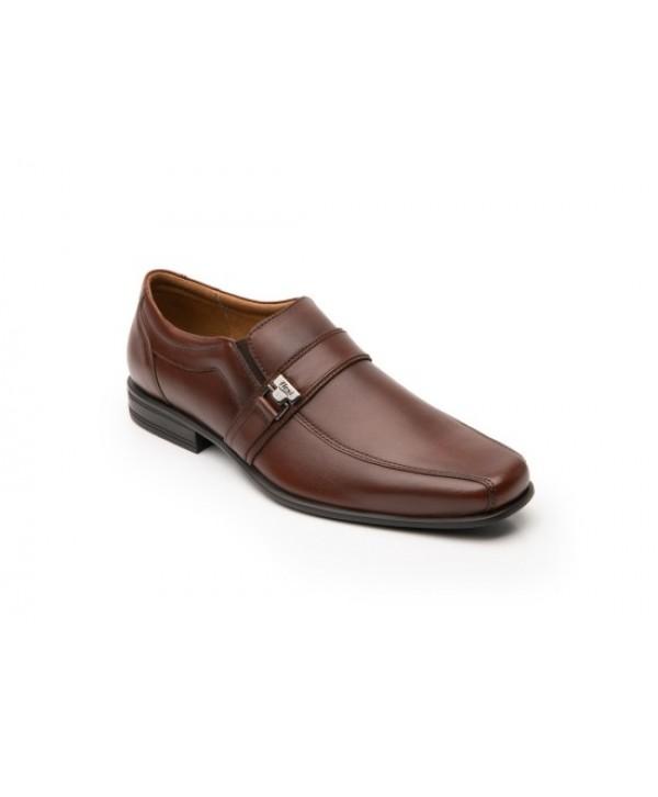 Zapato Mocasín Flexi Para Hombre Con Hebilla Frontal -  90712